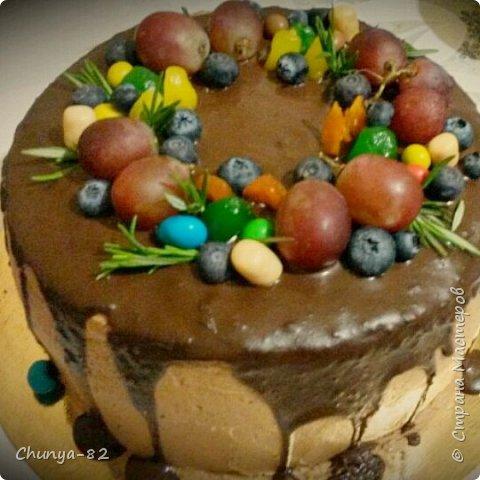 Вот такой яркий с пряничками получился у меня тортик на годовасие одной очень миленькой девчушке ))) фото 12
