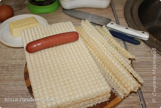"""Доброго времени суток! Давно увидела этот рецепт во всемирной паутине, но как-то не доходили руки... Но вот все же собралась я на выходных накормить своих чем-то новеньким и вспомнила про эти """"пирожки""""! фото 6"""