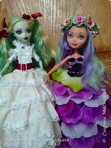 новые наряды для кукол,(шились для конкурсов) фото 1