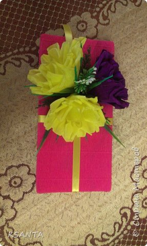 Здравствуйте, все заглянувшие ко мне!!! Вот такой букетик соорудился на день рождения подруге дочи. фото 7