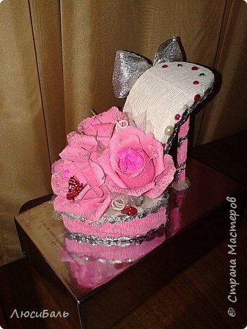 конфетная туфелька фото 5