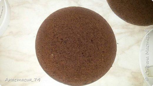 Выпечку я давно не ем, а тут захотелось и прям шоколадно. и этот рецепт подошел как нельзя кстати,шоколадный так еще и кисленький крем. Пекла по этому рецепту http://www.povarenok.ru/recipes/show/92667/ , только муку брала 50/50 кукурузную и пшеничную. И сок не свежевырытый, а покупной и добавила в него немного цедры апельсина  фото 3