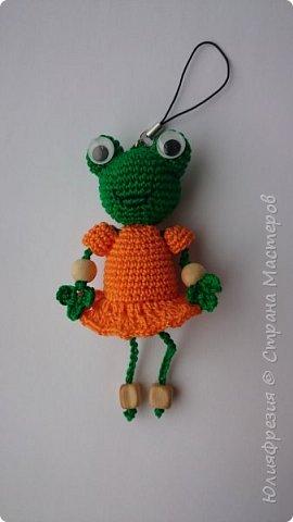 Здравствуйте, уважаемые жители Страны! Связалась у меня такая лягушечка в подарок коллеге. Спасибо автору http://stranamasterov.ru/node/724700?c=favorite фото 2