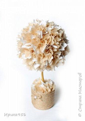 Из бумаги. Торцевание + цветы оригами + бусины. фото 7