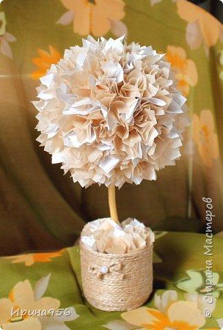 Из бумаги. Торцевание + цветы оригами + бусины. фото 8