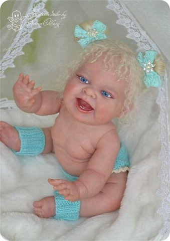 """Здравствуйте, девочки-мастерицы! В преддверии 1 апреля """"родилась"""" у меня смешная девочка Иришка. Хотим вам показаться. Рост 36см, вес около 1 кг... фото 2"""