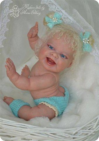 """Здравствуйте, девочки-мастерицы! В преддверии 1 апреля """"родилась"""" у меня смешная девочка Иришка. Хотим вам показаться. Рост 36см, вес около 1 кг... фото 4"""