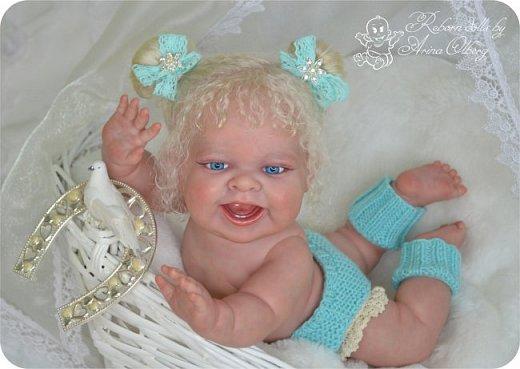 """Здравствуйте, девочки-мастерицы! В преддверии 1 апреля """"родилась"""" у меня смешная девочка Иришка. Хотим вам показаться. Рост 36см, вес около 1 кг... фото 7"""