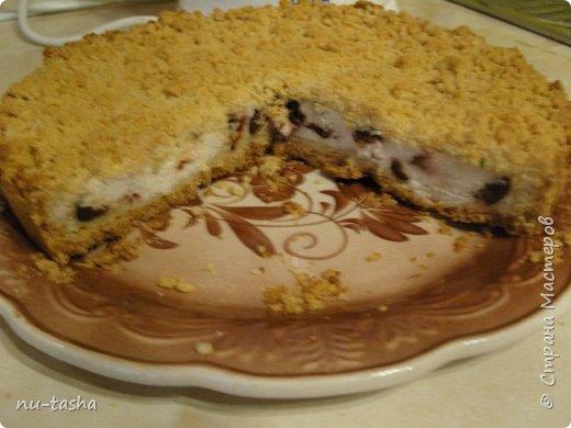 """Очень захотелось выпечки с творогом. Готовим ОЧЕНЬ вкусный песочный пирог с творогом и черносливом. Из серии """" Королевская ватрушка"""". фото 15"""