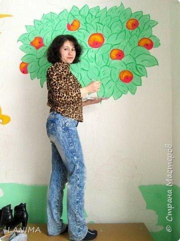рисунок выбирали дети, фото только с одной стены но разрисовали все четыре фото 2