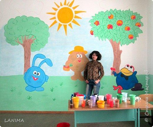 рисунок выбирали дети, фото только с одной стены но разрисовали все четыре фото 3