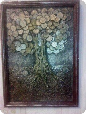 Денежное дерево,формат А4. фото 1