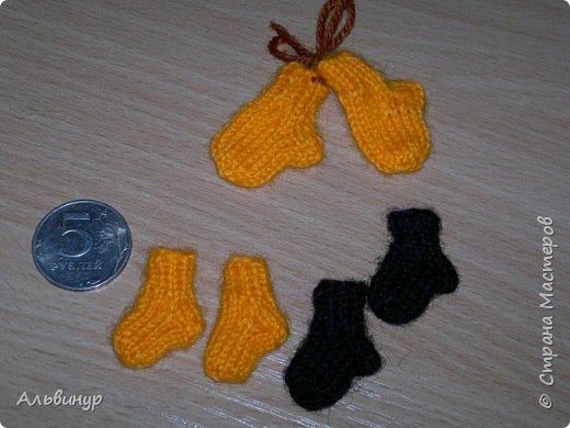 Однажды увлеклась я вот таким мини-вязанием. Было интересно и весело создавать малюток :))) фото 5