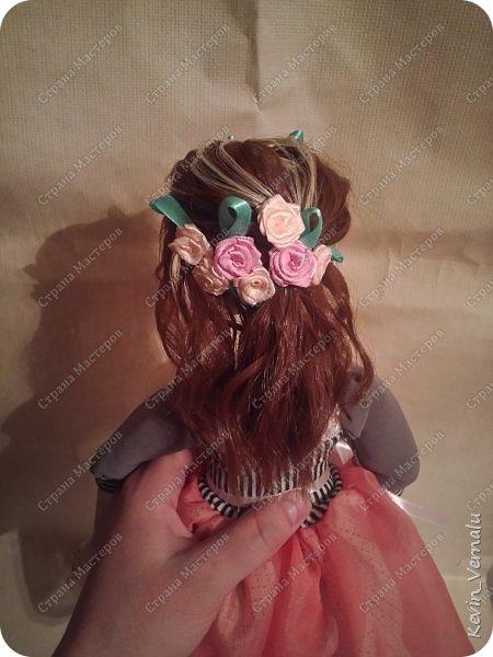 Всем снова привет.Вот и закончила свой необычный заказ....И выкладываю Мини мастер класс по созданию образа портретной куколки. фото 18
