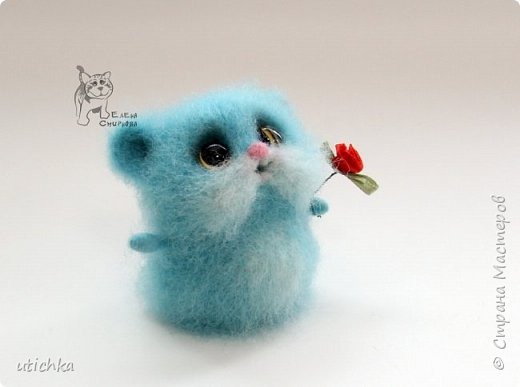 Зверек МыХоКа - это мышка, хомячок и кошка в одном флаконе.))) фото 5