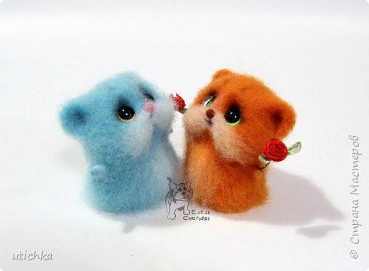Зверек МыХоКа - это мышка, хомячок и кошка в одном флаконе.))) фото 2