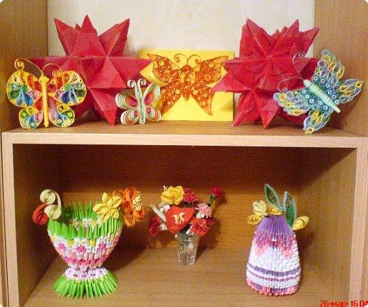 Осваиваю модульное оригами. Двигаюсь в этом направлении медленно, как моя февральская черепашка. Но чем-то эта техника мне нравится и я продолжаю делать модули.  фото 5