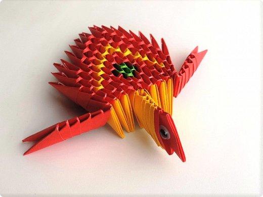 Осваиваю модульное оригами. Двигаюсь в этом направлении медленно, как моя февральская черепашка. Но чем-то эта техника мне нравится и я продолжаю делать модули.  фото 1