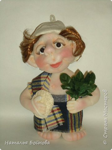 Кукла выполнена в скульптурно- текстильной технике фото 1