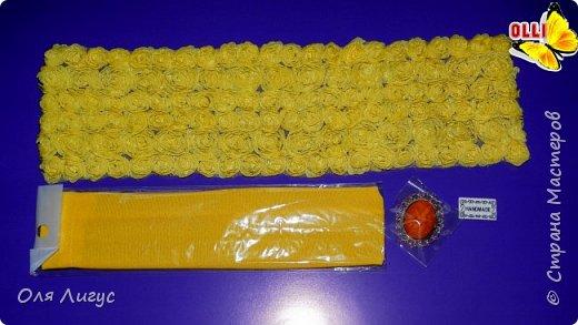 Бант из декоративной ленты фото 3