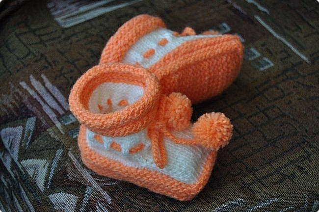 Простейший способ вязания пинеток на двухсторонних спицах. фото 4