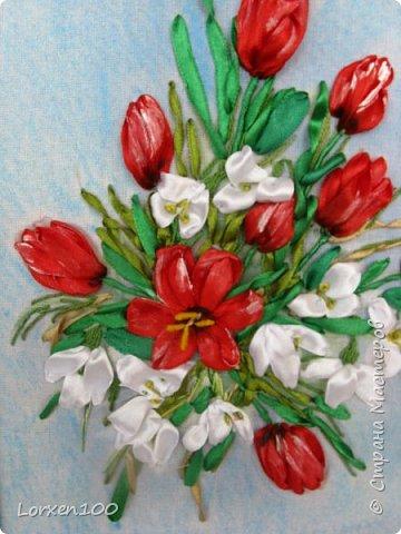 Добрый день,мои дорогие!!Вот и наступил второй месяц Весны!!Всем солнышка яркого,цветов и хорошего настроения!!!А у меня букетик тюльпанов и подснежников! От души!!!Улыбнитесь и пусть день будет веселым и радостным!! фото 1
