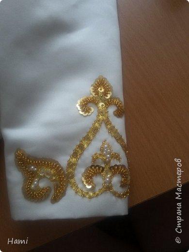 Платье шила не я, я только украсила) и пояс сделала. фото 7