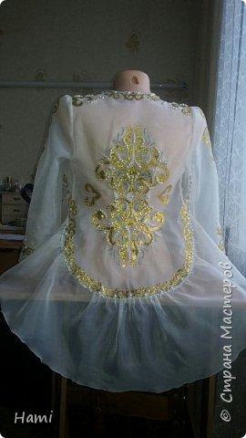 Платье шила не я, я только украсила) и пояс сделала. фото 2