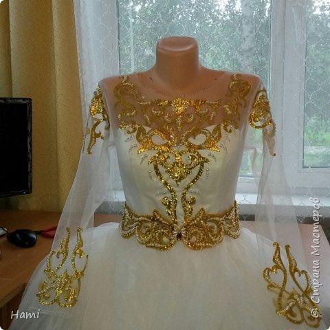 Платье шила не я, я только украсила) и пояс сделала. фото 1