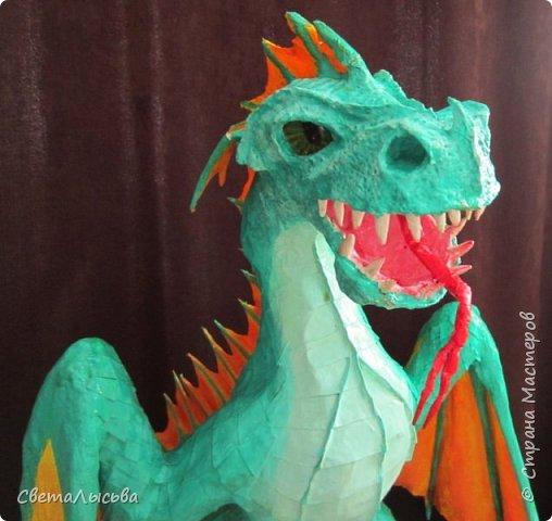 Здравствуйте, жители СМ! Принимайте моего дракошу. фото 3