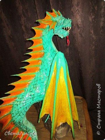 Здравствуйте, жители СМ! Принимайте моего дракошу. фото 23