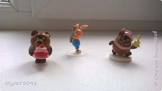 Привет всем!Хочу поделиться нашей коллекцией с сынулей -маленькими киндер- сюрпризами.Кому эта тема понравилась,предлагаю в комментариях выложить ваши киндеры)) фото 6