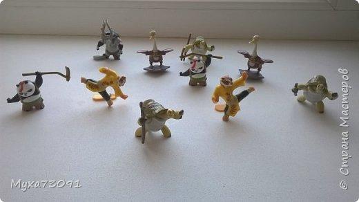 Привет всем!Хочу поделиться нашей коллекцией с сынулей -маленькими киндер- сюрпризами.Кому эта тема понравилась,предлагаю в комментариях выложить ваши киндеры)) фото 8
