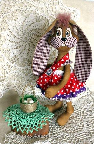 Добрый вечер! Кофейная пасхальная ароматизированная зайка, тоже символ Пасхи, только в некоторых странах Европы и США. фото 1