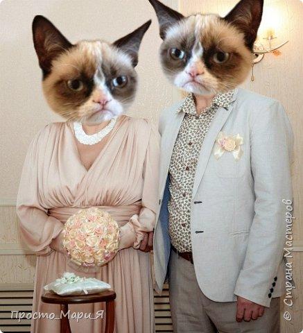 не моя свадьба, а черных квадратов не хотелось))) поэтому женятся ПАНДЫ)))) фото 3