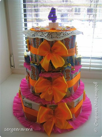 Хочется показать еще один тортик , делала его в детсад на день рожденье маленькой девочки. Всем мастерицам спасибо за идею. фото 1