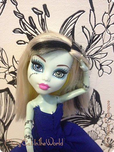 Вернулась я? Я не вернулась. Я просто осознала, что если я уже не увлекаюсь куклами, а шить мне очень нравится, то почему бы и не шить пока есть такая возможность и с новым телефоном качество фотографий намного лучше. фото 5