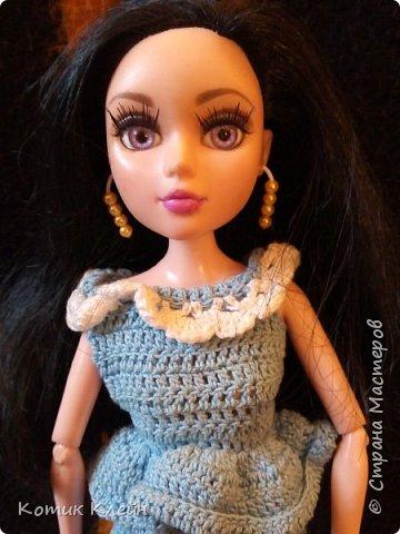 Всем привет с вами Котик Клейн и сегодня я покажу вам самый легкий способ сделать серьги для куклы  фото 1