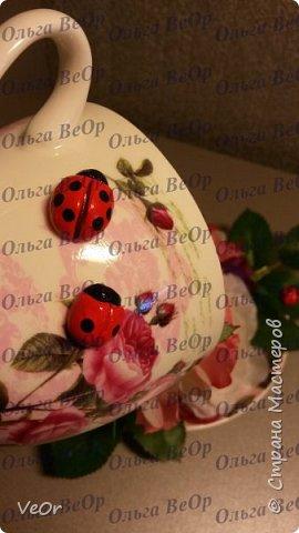 Делала парящие чашки в подарок. Всем очень понравились )) фото 5