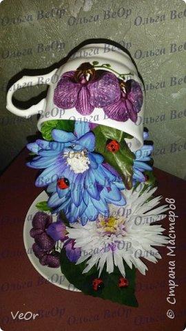 Делала парящие чашки в подарок. Всем очень понравились )) фото 1