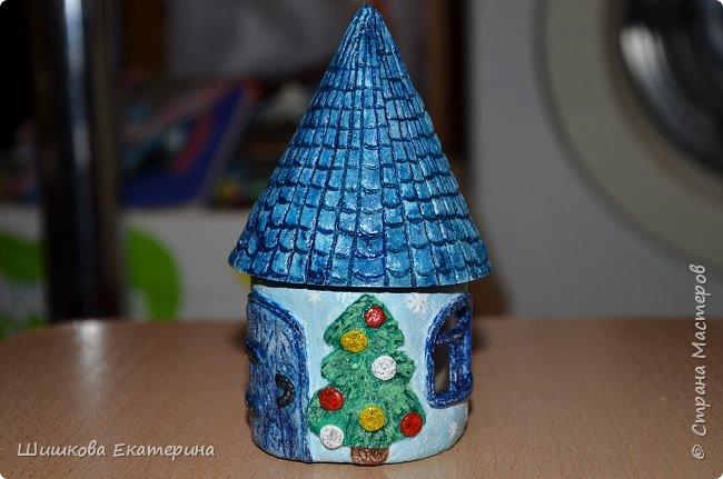"""Весна, солнце, цветы, любовь! У меня """"родилась"""" идея создать вот такой домик. Разукрасить осталось ... фото 9"""
