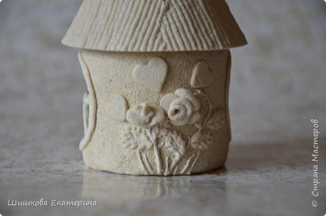 """Весна, солнце, цветы, любовь! У меня """"родилась"""" идея создать вот такой домик. Разукрасить осталось ... фото 3"""
