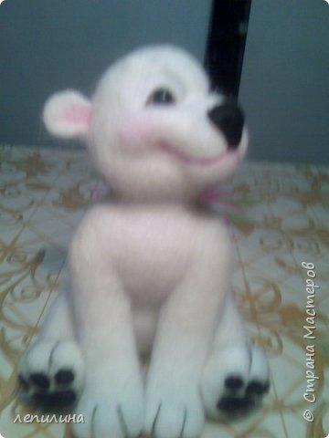 пряжа из собачьего пуха и игрушки сухого валяния фото 2