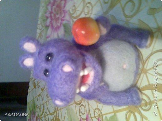 пряжа из собачьего пуха и игрушки сухого валяния фото 6