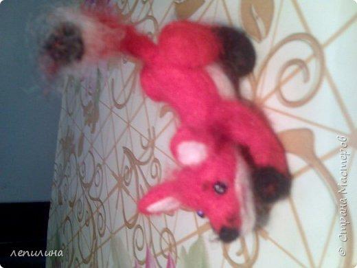 пряжа из собачьего пуха и игрушки сухого валяния фото 11