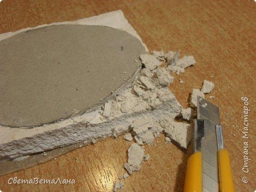 На стройке  от стен и потолка осталась приличнейшая куча гипсокартона....отрезочки короткие и узкие.... на стройке они уже не нужны , а выбрасывать - рука не поднимается......так что , решила их начинать осваивать....... потому сегодня делюсь своими работами и тем, как их делать ( работа с гипсокартоном)......... фото 27