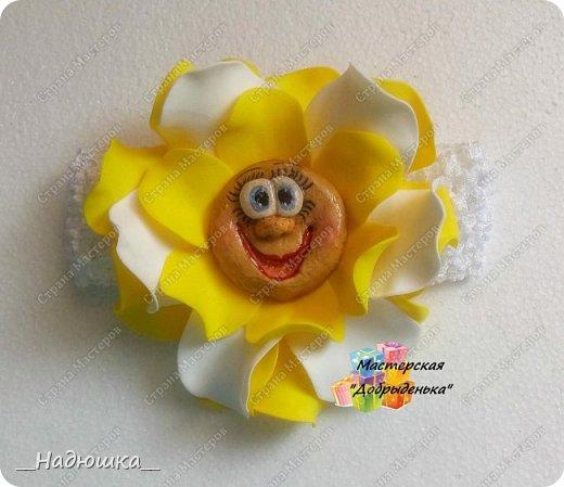 Сказочные цветы по МК Ольги Родионовой фото 4