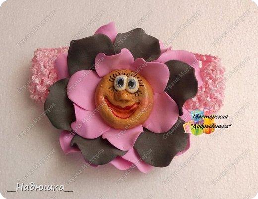Сказочные цветы по МК Ольги Родионовой фото 5
