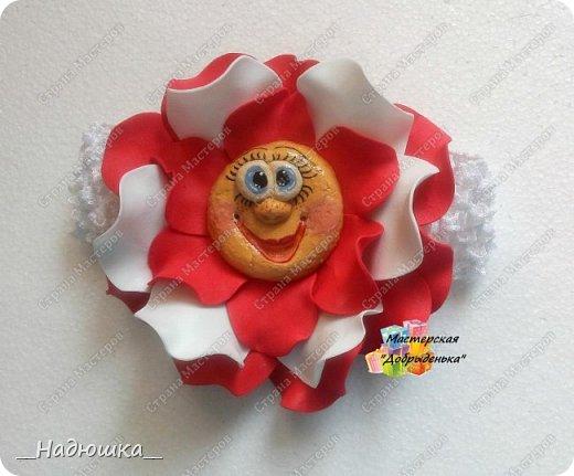 Сказочные цветы по МК Ольги Родионовой фото 6