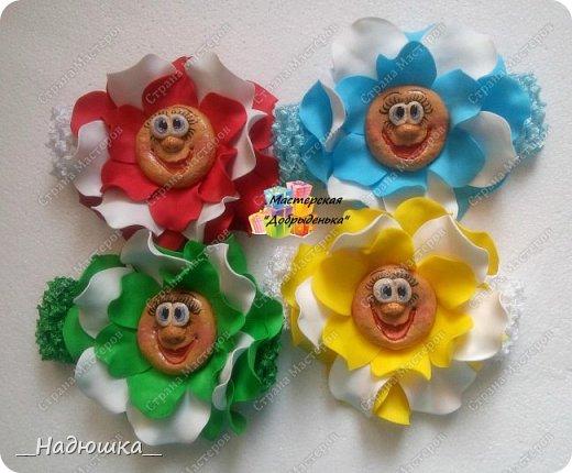 Сказочные цветы по МК Ольги Родионовой фото 1